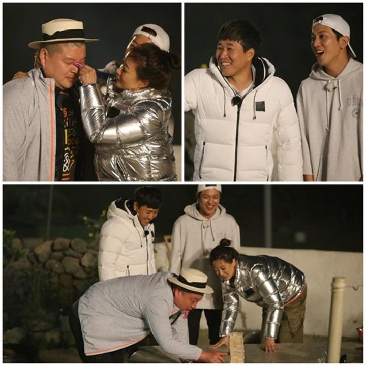'섬총사' 강호동, 게임 인생 20년에 '스크래치'… ft. 김종민·김희선·정용화