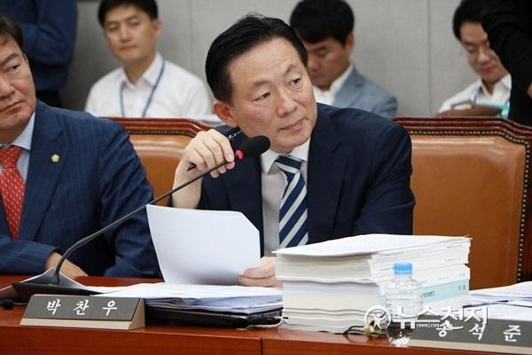 박찬우 의원 벌금 300만원 확정… 의원직 상실