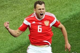 [러시아월드컵] 러시아, 개막전서 연속골로 사우디에 2-0 리드
