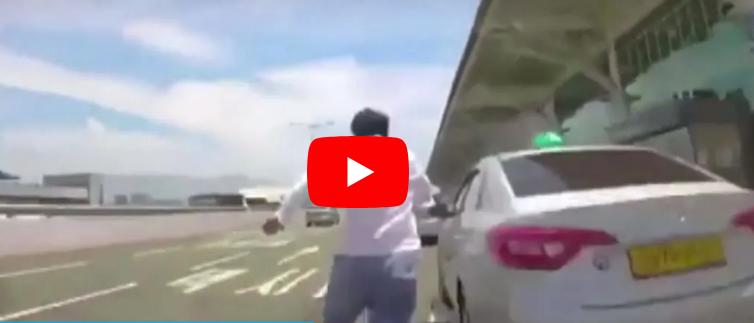 김해공항 택시 교통사고 BMW 블랙박스 동영상 5백미터 15초에 돌파