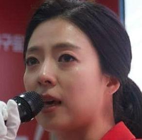 """배현진, """"따뜻한 격려 감사"""" 첫 정치 입문서 득표율 2위...눈물 흘려 '급부상'"""