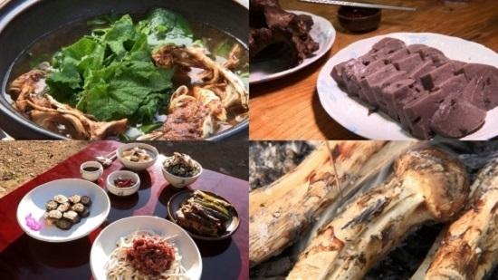 '한국인의 밥상' 소백산 자락길 골골마다 스며든 버섯 향 가득한 밥상