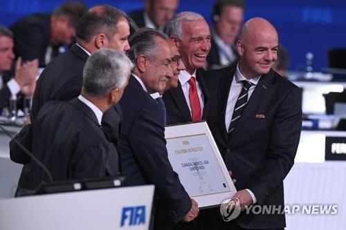 미국·멕시코·캐나다 2026년 FIFA 월드컵 공동 개최