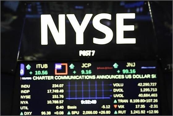 뉴욕증시, FOMC 경계…다우 0.01% 하락 마감
