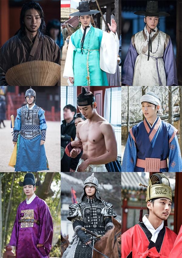 '대군-사랑을 그리다' 윤시윤, 다채로운 사극 의상 완벽 소화…캐릭터에 입체감 더해