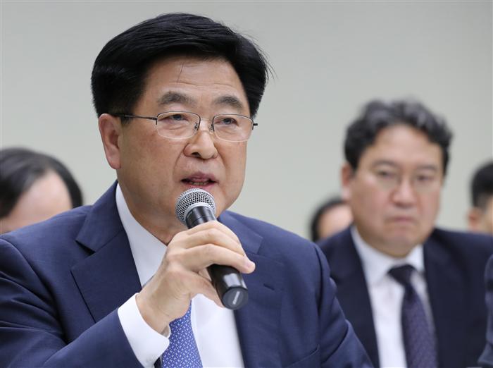 (2017 국감)권오갑 현중 부회장 ¨2019년 군산조선소 재가동은 희망사항¨