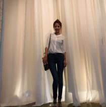 배지현, 슈퍼모델 출신다운 슬렌더 몸매… 비율 실화? '류현진이 반할만'
