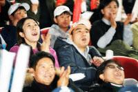 [경인포토]정현 테니스 그랜드슬램 응원 `꿈의 4강`