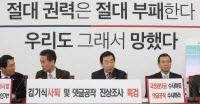 """한국당 김성태, """"댓글조작 드루킹 빙산의 일각… 최순실도 울고갈 국기문란"""""""