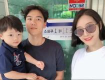 """'인생술집' 모델 이현이, 남편과 투표소 인증샷… """"투표 완료"""""""