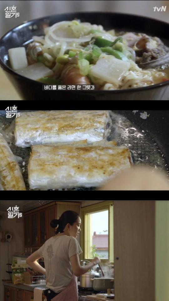 [시선강탈] `신혼일기2` 장윤주, 이정도면 집밥 장선생