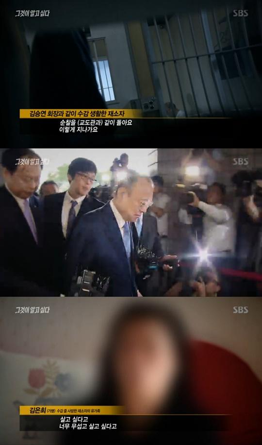 [TV온에어] '그것이 알고 싶다' 김승연 회장 열 차례 걸친 통원치료, 과연 공정했나