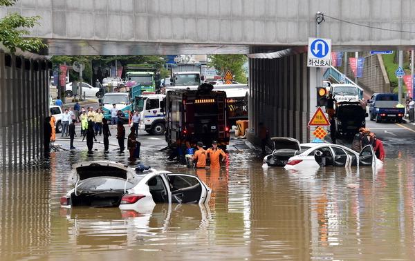 폭우만 오면 '수중도시 부산' 매년 되풀이