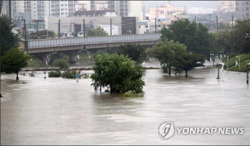 부산 폭우로 피해 속출, 갑자기 쏟아진 물폭탄에 침수피해 신고만 170여건