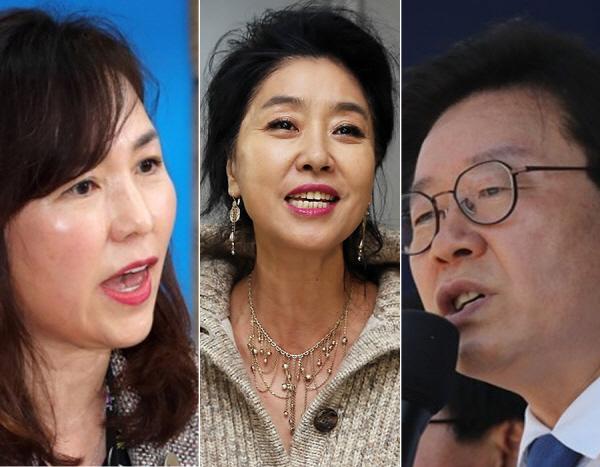"""[전문] '이재명-김부선' 스캔들… '사퇴 요구'까지 """"이창윤·공지영 비판 가세"""""""