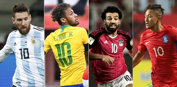'해결사' 살아야 팀도 산다…월드컵 10번 전쟁
