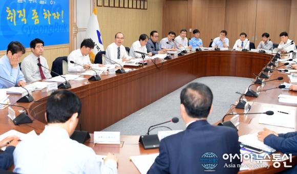 경북도, 내년도 국비확보 올인..국가투자예산 확보 보고회 개최