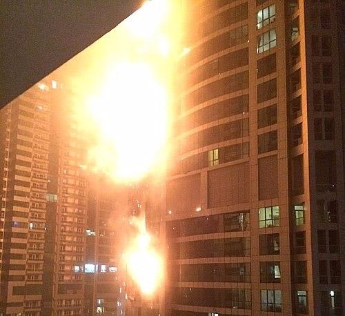 김해 아파트 화재, 어쩌다 이런 일까지?