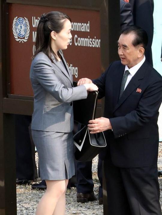 """""""평창올림픽 때 만삭?"""" 이쯤에서 다시 보는 김여정 방남 사진"""