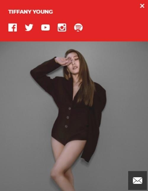 소녀시대 티파니 미국 대형 에이전시와 계약 활동명은 '티파니 영'