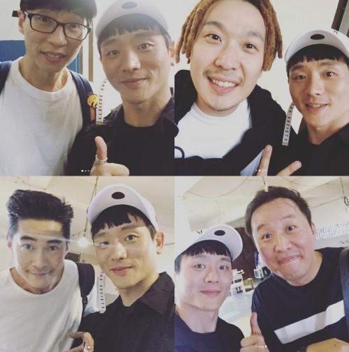"""김설진, 배정남·유재석·하하·정준하와 인증샷 """"대단하신 분들"""""""