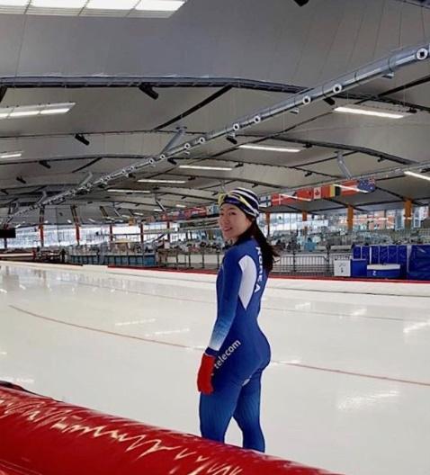 """이상화, 스피드스케이팅 500m 경기 앞두고 근황 공개 """"얼음 위에서 더 빛나길"""""""
