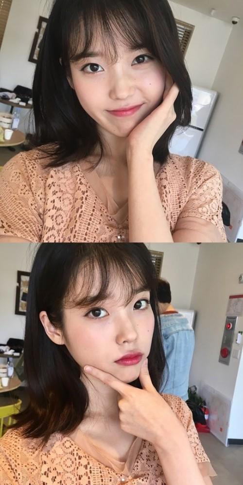 """수목드라마 '나의 아저씨' 이지은, 근황 공개 """"화장 잘 먹은 날"""""""
