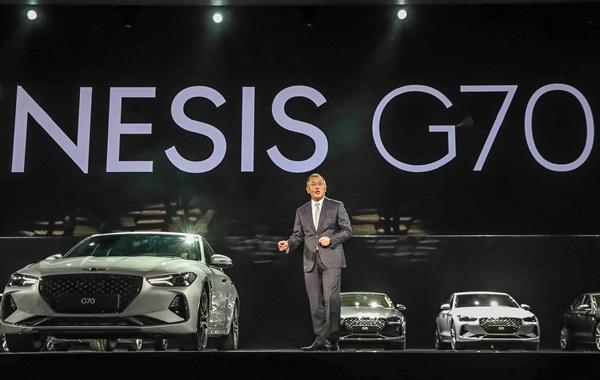 정의선 부회장, 작정하고 만든 '제네시스 G70' 수입車 벽 넘는다
