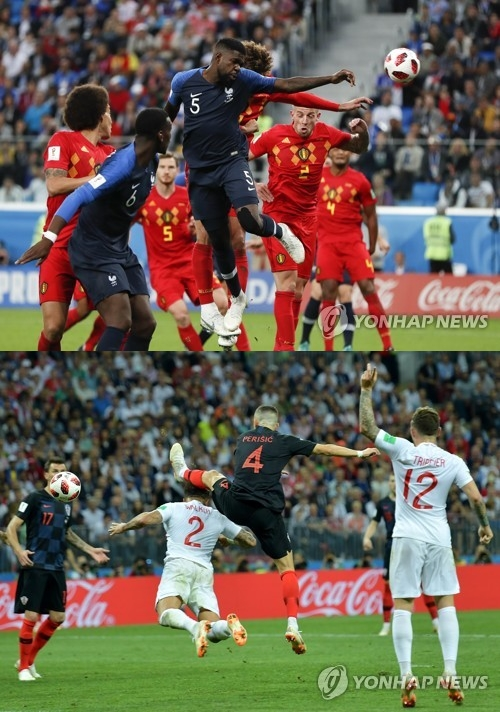 20년 만의 '리턴매치' 프랑스vs크로아티아, 월드컵 주인은 누가 될까… 경기 일정 눈길