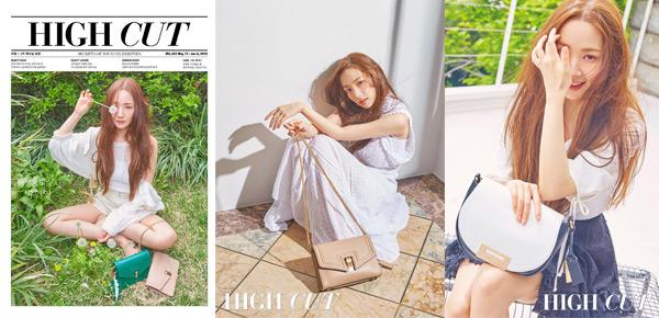 박민영의 싱그러운 여름 화보, 청아한 매력 발산