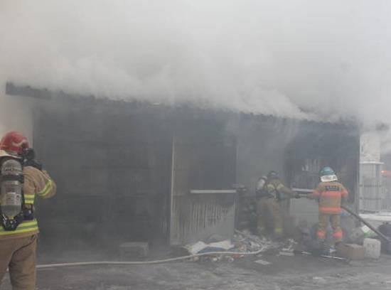 청주초등학교 화재 `실화` 추정 담뱃불 때문에…