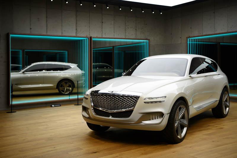 제네시스 첫 SUV `GV80` 콘셉트카 국내 최초 공개