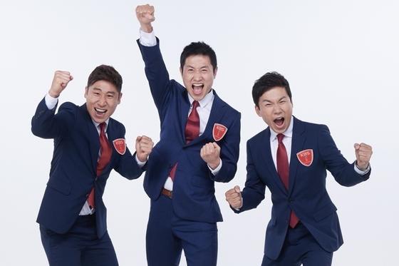 '2018 러시아 월드컵' 개막 KBS 중계트리오 이영표·이광용·이근호 첫 호흡