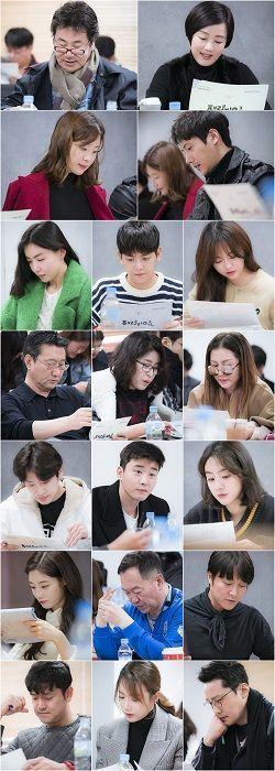 `같이 살래요` 유동근♥장미희·이상우♥한지혜 `케미` 돋보이는 대본리딩 현장 공개