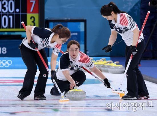 [컬링 세계선수권]한국, 스위스에 접전 끝 6-8 패…6승3패 공동 3위
