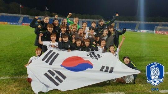 韓 여자 축구, 필리핀에 5-0 대승…2회 연속 월드컵 본선 行