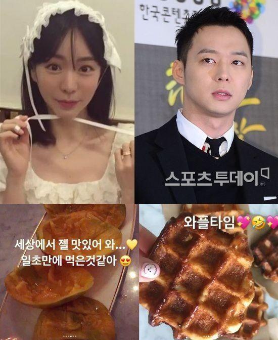 황하나 SNS 소통 열정 박유천 결별 무관 애플망고 홍보까지