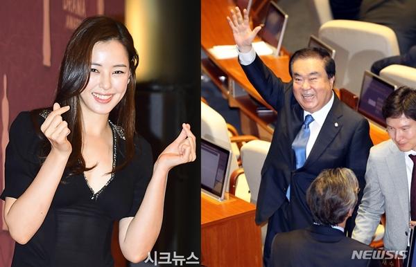 문희상, '이하늬 외삼촌' 타이틀 → 20대 국회 '국회의장' 당선