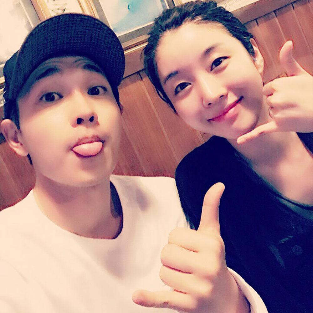 [스타 인스타그램] SG워너비 이석훈, 아내 최선아와 함께 사랑스러운 모습…'선남선녀 부부'