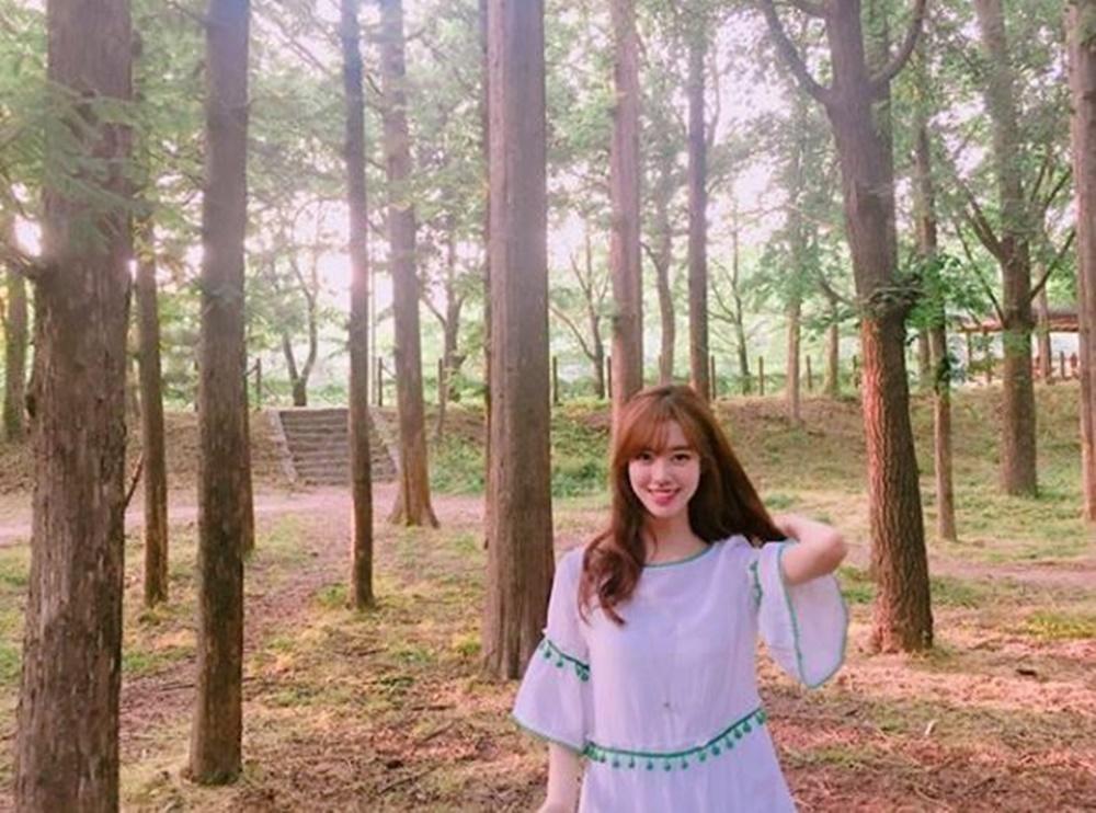 """'대군-사랑을 그리다' 진세연, 과거 싱그러운 일상…""""초록초록"""""""