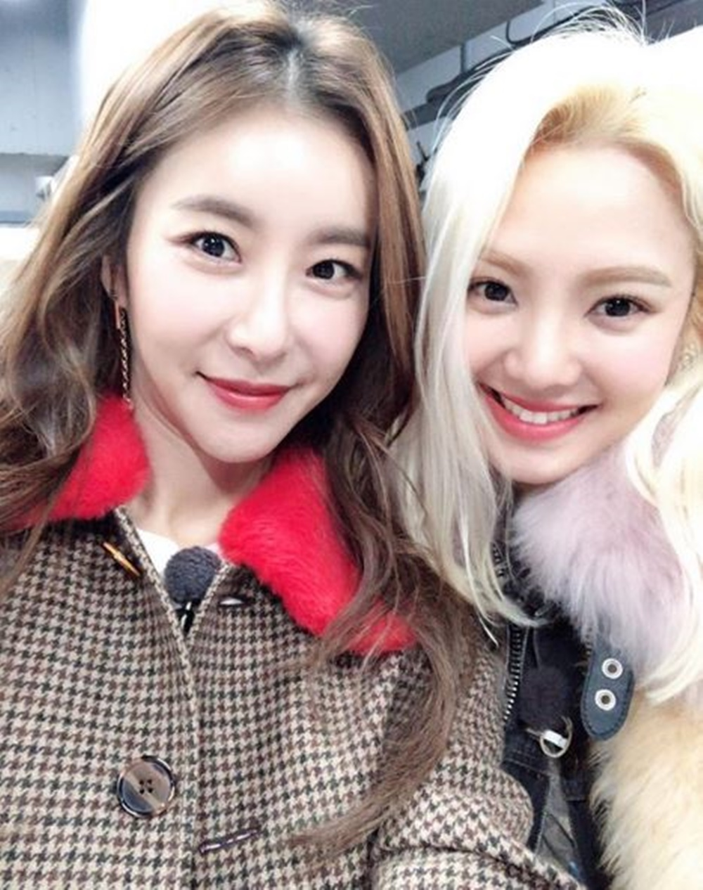 `도시어부` 한은정, 과거 소녀시대(SNSD) 효연과 함께…`아름다워`