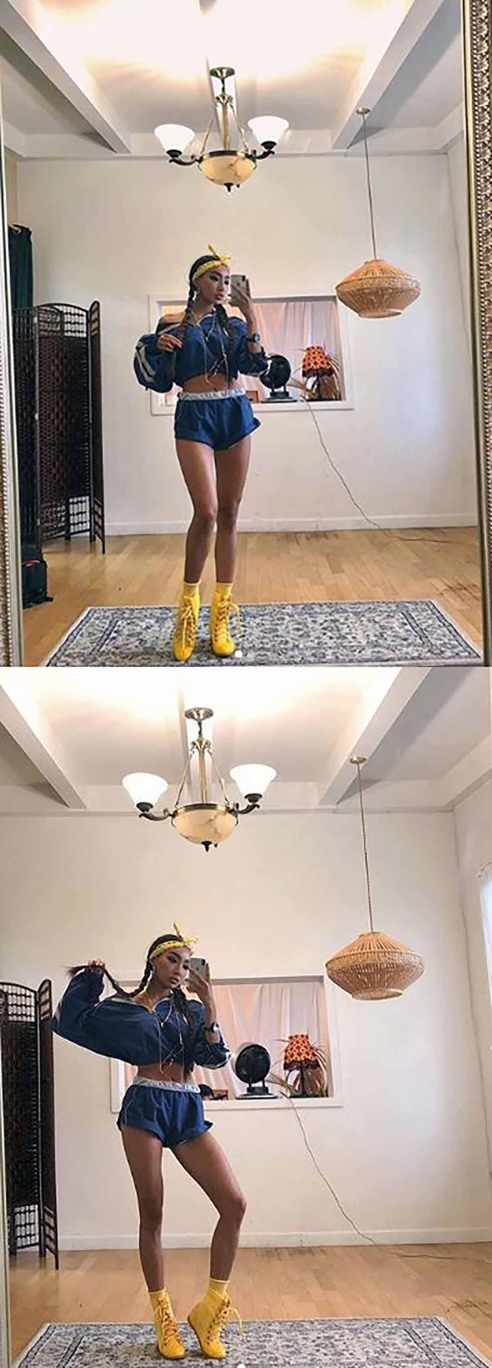 문가비, 변함없는 워너비 몸매 과시…'화려한 스타일링도 완벽 소화'