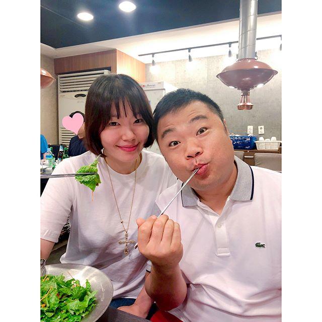 """정종철 아내 황규림과 데이트 현장 공개…""""비 오는 날은 대창이지"""""""