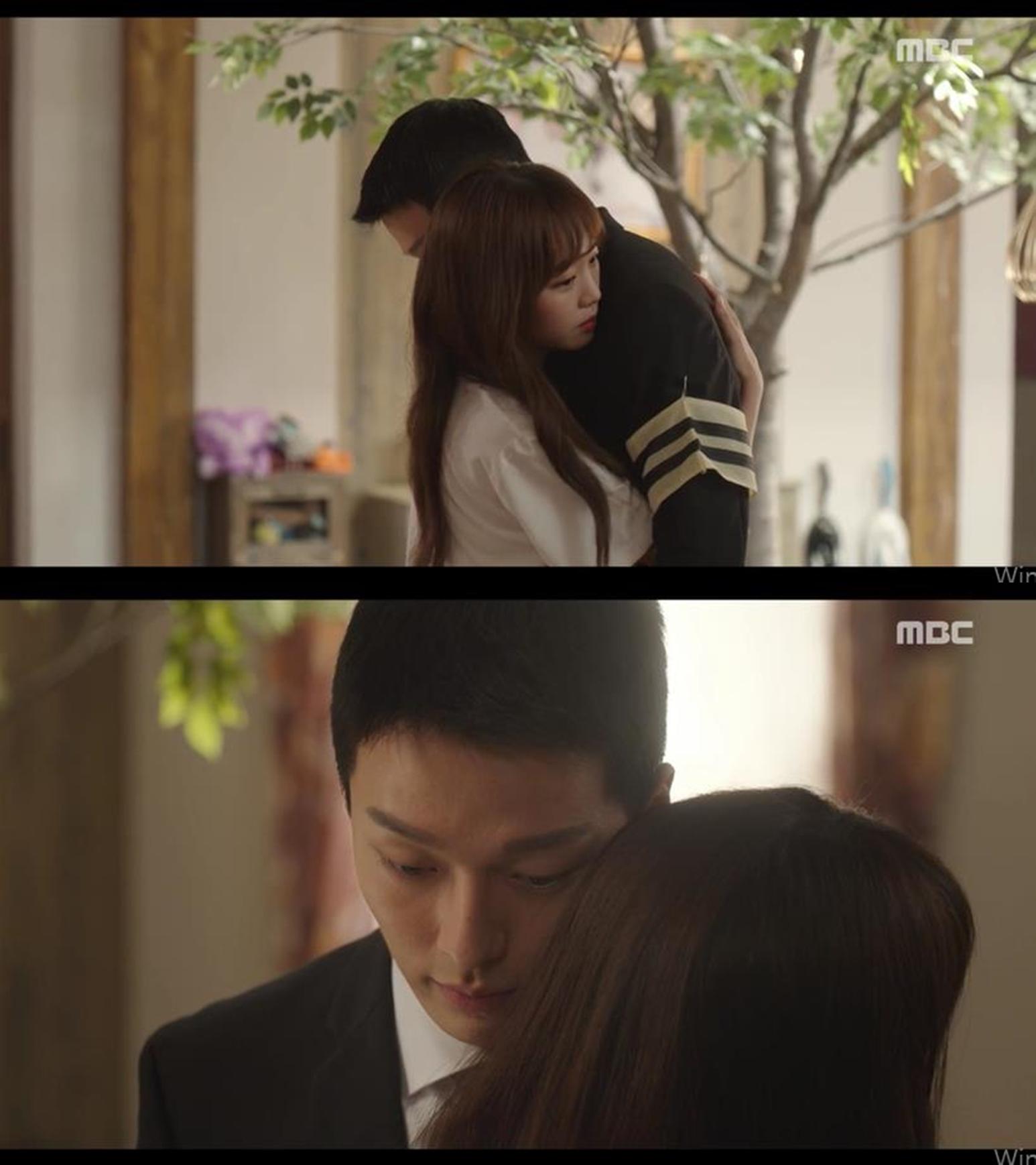 '이리와 안아줘' 장기용-진기주, '나무의 낙원' 지킬 수 있을까…애틋한 포옹