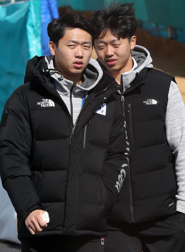 [컬링] 이기정 이기복 형제, 일상 모습 '귀엽네'