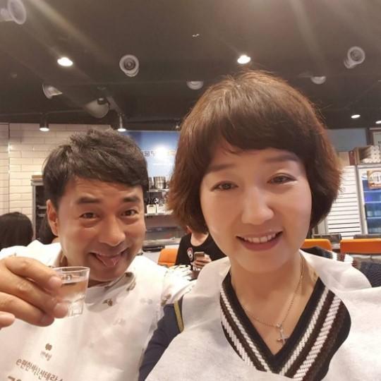 """전진주♥배동성, 꿀 떨어지는 커플샷 """"결혼 축하 고마워요"""""""