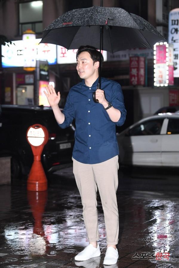 서현우 '나의 아저씨 종방연 왔어요'