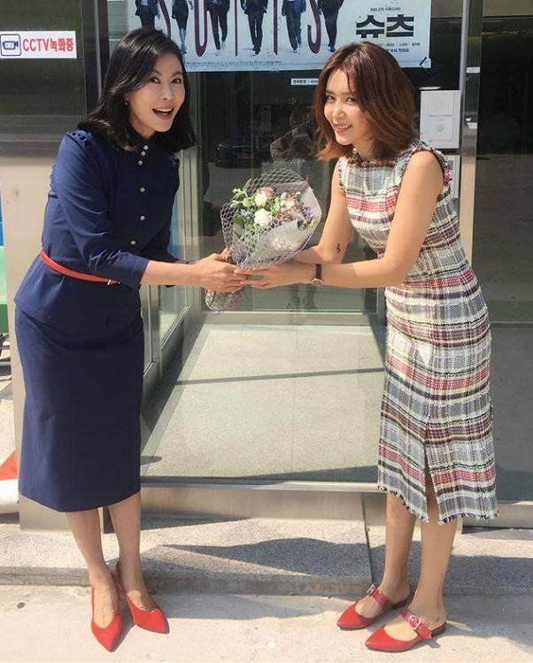 """종영 '슈츠' 채정안 """"진희경 덕분에 행복했어요"""""""