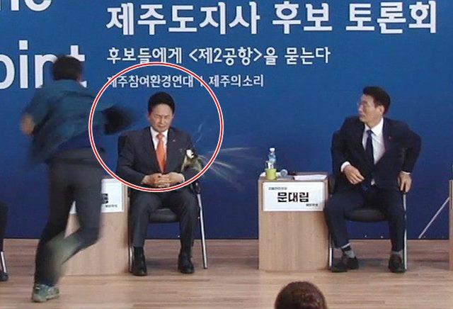 """원희룡 후보 딸 """"정계 은퇴했으면…호상당해야 할텐데"""""""