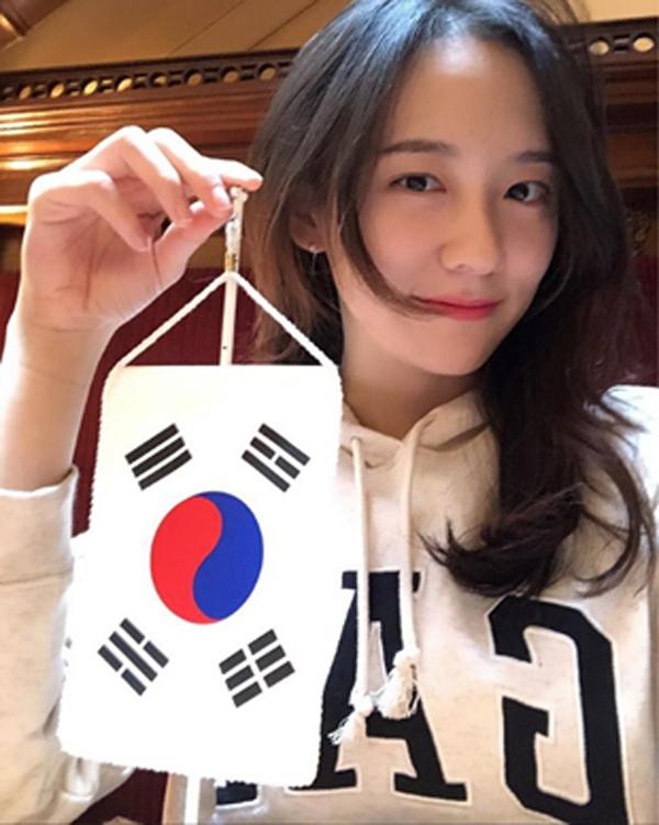 곤지암 박지현, 셀카 공개…'청순여신 등극'